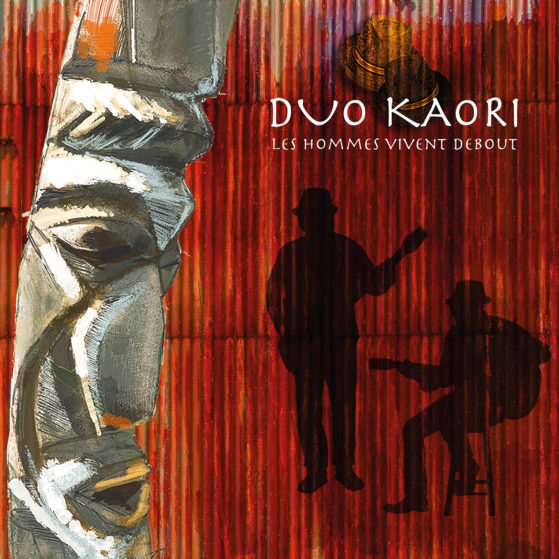 Cover_Kaori bleu_Kaori_Les hommes vivent debout_Release